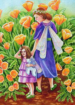 Poppy Fairies with Unicorn Toy by Rachel Armington