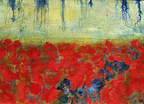 Poppy Field IV by Diane Dean