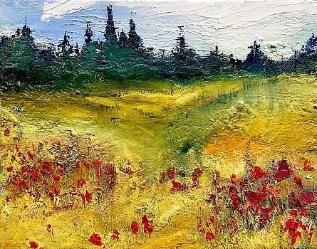 Poppy Field by Julia S Powell