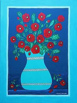 Gina Nicolae Johnson - Poppy flowers