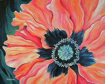 Poppy for a New Day by Nicole Werth