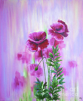 Poppy Haze by Julia Underwood