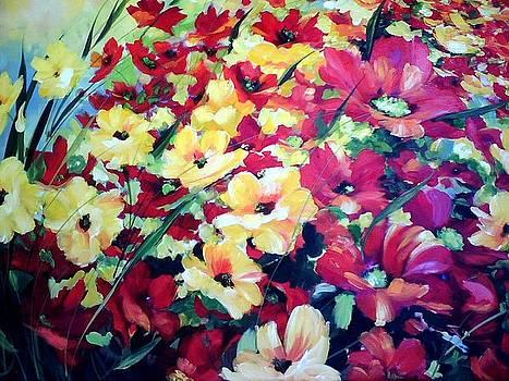 Poppy Parade by Heather Roddy