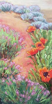 Poppy Pathway by Gina Grundemann