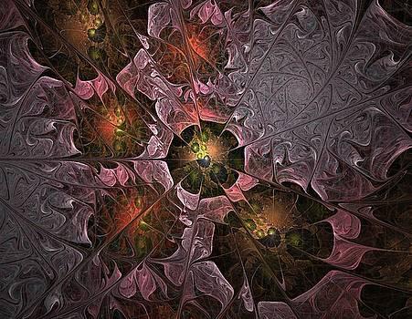 Poppy Tears - Fractal Art by NirvanaBlues