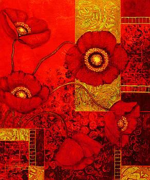 Poppy Treasures II by Lynn Lawson Pajunen