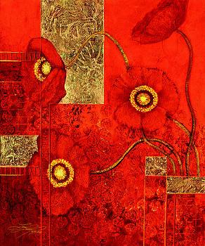 Poppy Treasures by Lynn Lawson Pajunen