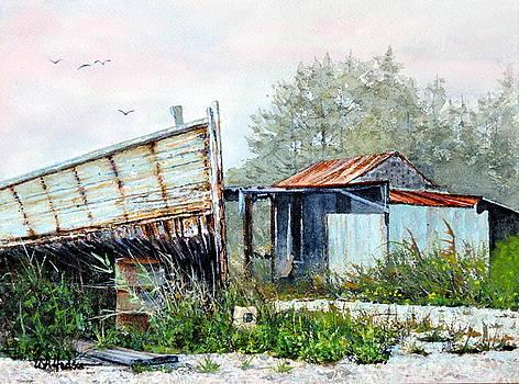 Pop's Backyard by Bill Hudson