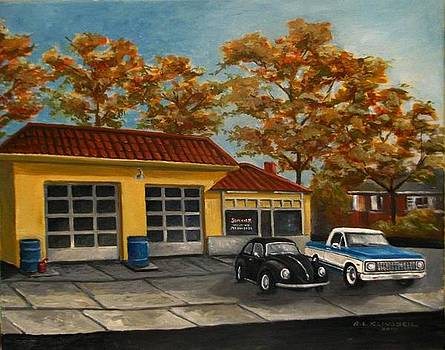 Pop's Garage by Richard Klingbeil