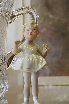 Porcelain Doll by The Art Of Marilyn Ridoutt-Greene