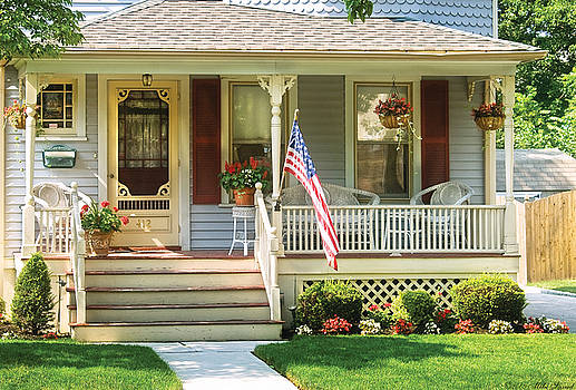Mike Savad - Porch - Garwood NJ - The home of a little old lady