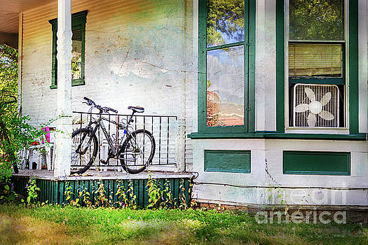 Porch and Window Fan Bicycle by Craig J Satterlee
