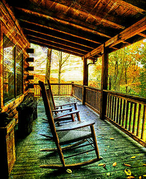 Porch Front by Digital Art Cafe