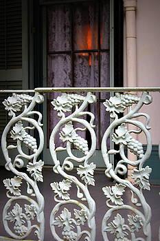 Porch Railing - The Myrtles Plantation by Beth Vincent
