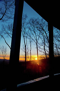 Porch Sunset by George Taylor