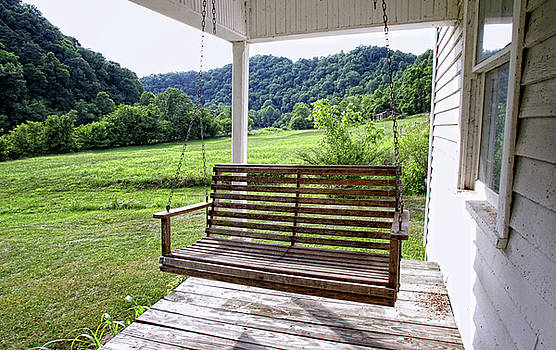 Porch Swing AA by Earl Carter