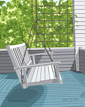 Porch Swing by Susan Spangler