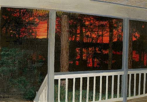 Porchlight by Sherryl Lapping