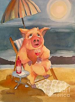 Pork And Beach by Shane Guinn