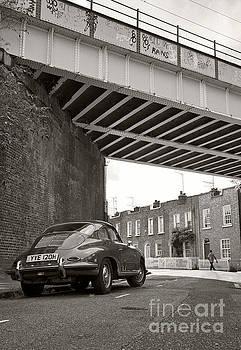 Porsche 356 - Camden Town, London by David Bleeker