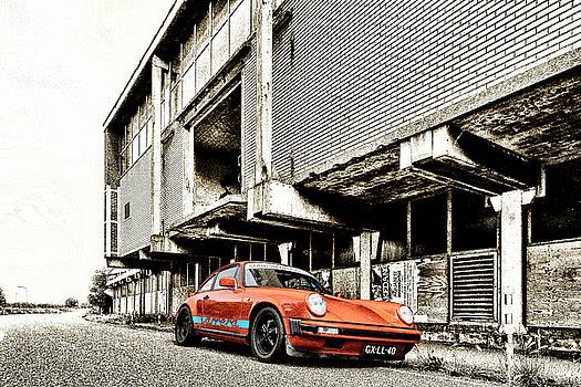 2bhappy4ever - Porsche 911 in orange and gold