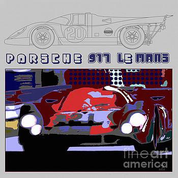 Porsche 917 Graphic by Curt Johnson