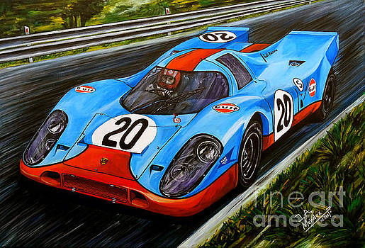 Porsche 917 Jo Siffert by Jose Mendez
