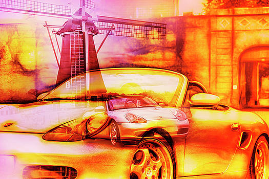 Porsche Boxster artwork by 2bhappy4ever
