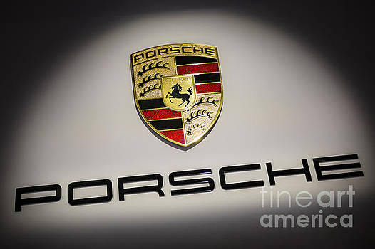 Porsche Car Emblem by Stefano Senise - Porshe Logo Photo