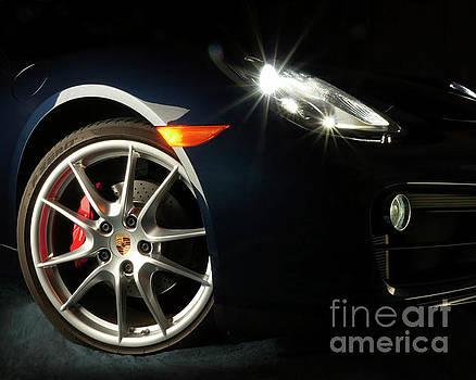 Porsche Cayman S Night Detail by David Chalker