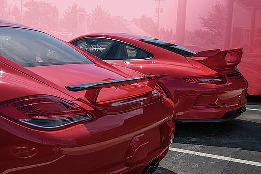 Porsche Pair by Paul Barkevich