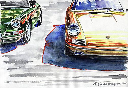 Porsche by Rimzil Galimzyanov