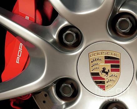 Porsche Wheel Detail #1 by David Chalker