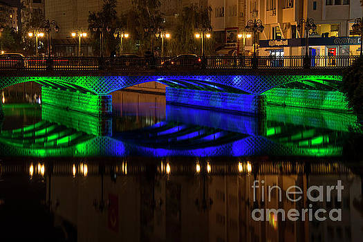 Bob Phillips - Porsuk River Bridge at Night