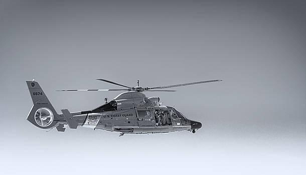 Paul W Sharpe Aka Wizard of Wonders - Port Angeles Coast Guard helicopter