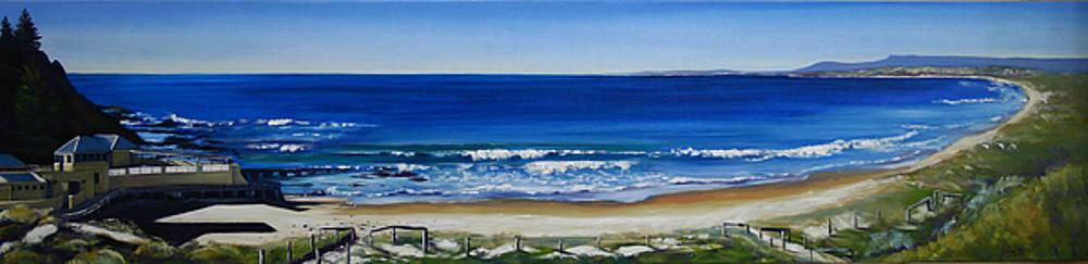 Port Beach by Kathy  Karas