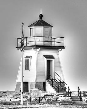 Port Clinton Light Station by Mary Timman