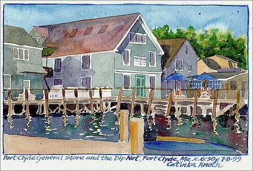Port Clyde General Store Maine by Catinka Knoth
