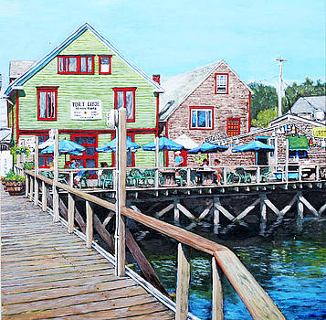 Port Clyde Maine by Thomas Michael Meddaugh