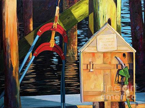 Port Clyde Refuel by Lynne Schulte