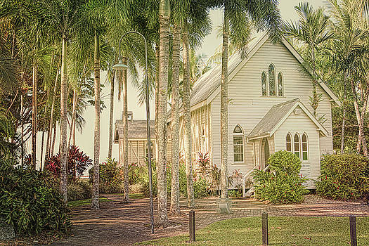 Port Douglas Beach Chapel by Chris Hood