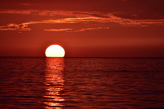 Port Elgin Sunset by Maria Keady