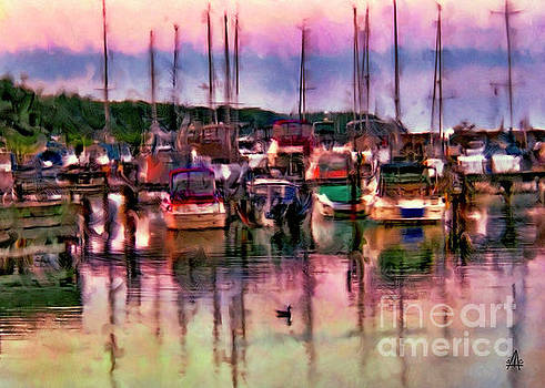Port Harbor #1 by Stacey Carlson