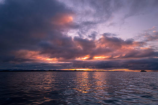 Port Hardy Sunrise by Michael J Bauer