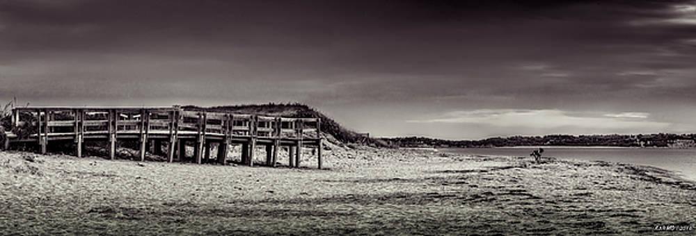 Port Hood Beach at Evening  by Ken Morris
