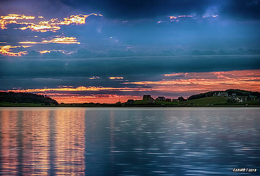 Port Hood Island at Sunset II by Ken Morris