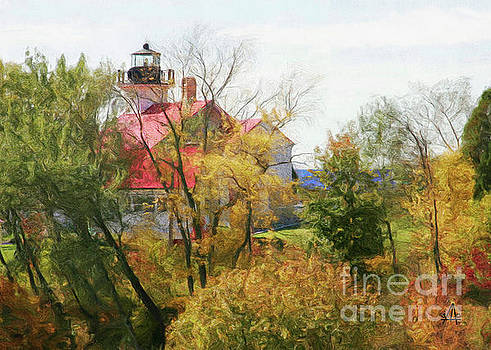 Port Lighthouse by Stacey Carlson