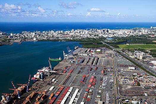 Port of San Juan by Felix Bahamonde