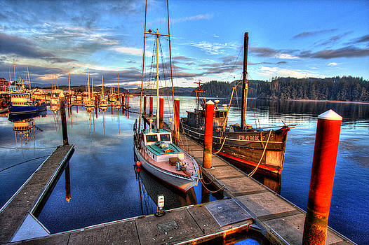 Port of Siuslaw by David Rigg
