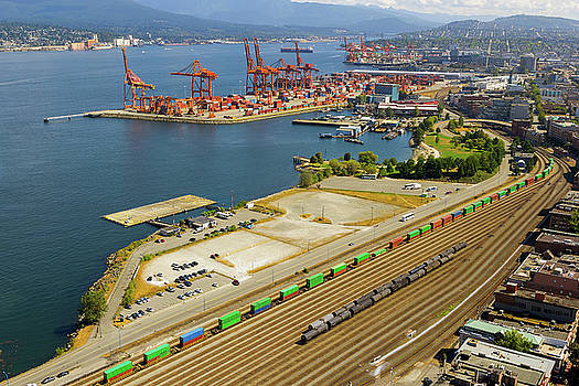 Port of Vancouver BC by David Gn
